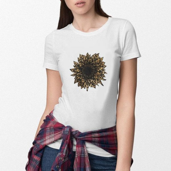 Awesome New Style Sunflower Leopard shirt
