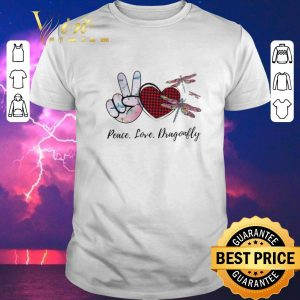 Awesome Peace Love Lucky Dragonfly 2020 shirt sweater