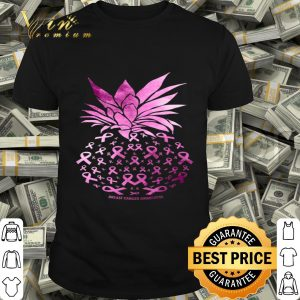 Be A Pineapple Stand Tall Funny Breast Cancer Awareness shirt