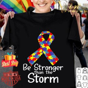 Be Stronger Than the Storm Autism Awareness Costume Ribbon shirt