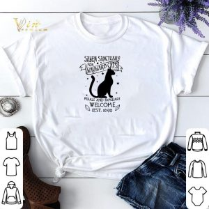 Cat salem sanctuary for wayward cats ferals and familiars welcome shirt sweater