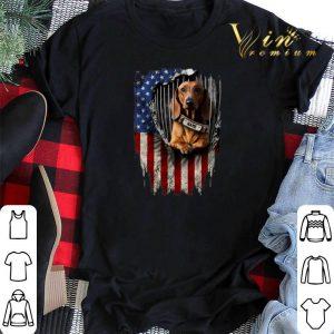 Dachshund dog name American flag shirt sweater 1
