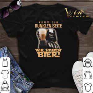Darth Vader komm zur dunklen seite wir haben bier Star Wars shirt
