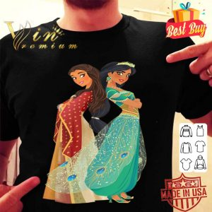 Disney Aladdin Jasmine and Dalia Live Action shirt