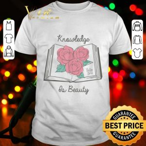 Disney Beauty & The Beast Knowledge Beauty Graphic shirt