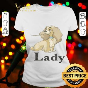 Disney Lady And The Tramp Spaghetti Lady Couples shirt
