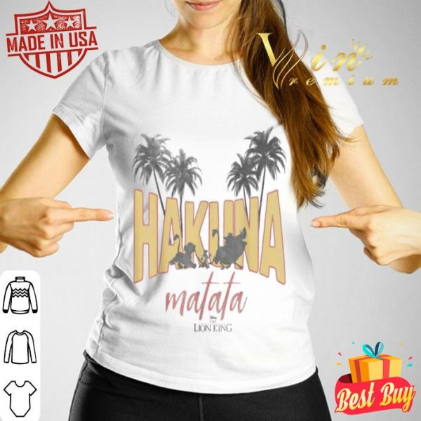 Disney Lion King Vintage Hakuna Matata Logo Graphic shirt