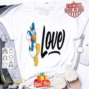 Disney Love Donald Duck shirt