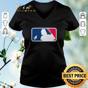 Hot Darth Vader mashup MLB Logo shirt sweater