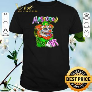 Hot Mastodon Clown St. Patrick's Day shirt sweater