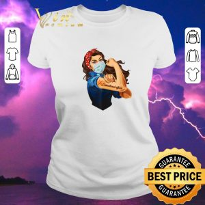 Hot Strong Girl Correctional Officer Coronavirus shirt sweater 1