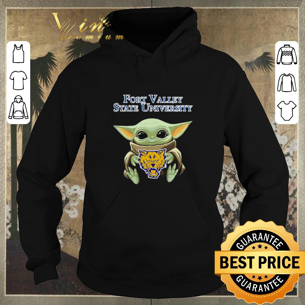 Official Baby Yoda Hug Fort Valley State Wildcats Star Wars shirt sweater 4 - Official Baby Yoda Hug Fort Valley State Wildcats Star Wars shirt sweater