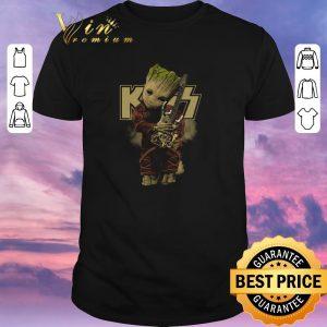 Original Baby Groot Hug Kiss Guitar Marvel shirt sweater
