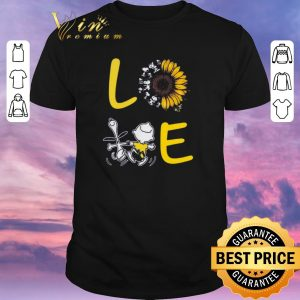 Pretty Love Sunflower Snoopy And Charlie Brown shirt sweater