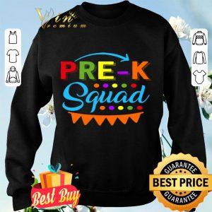 Pre K Squad Preschool Teacher Back To School Gift shirt