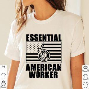 Essential American Worker Liberty American Flag Shirt 2
