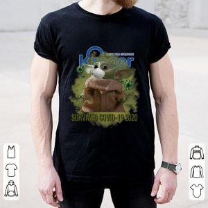 Fresh For Everyone Kroger Baby Yoda Survived Covid-19 2020 Shirt 1