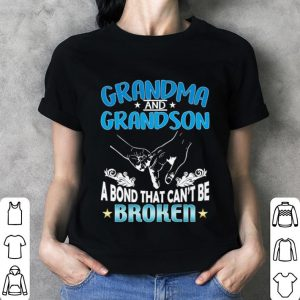 Grandma and grandson a bond that can't be broken shirt 2