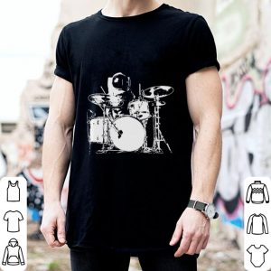 Space drummer shirt