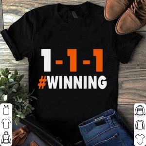 1-1-1 Winning Cleveland football shirt
