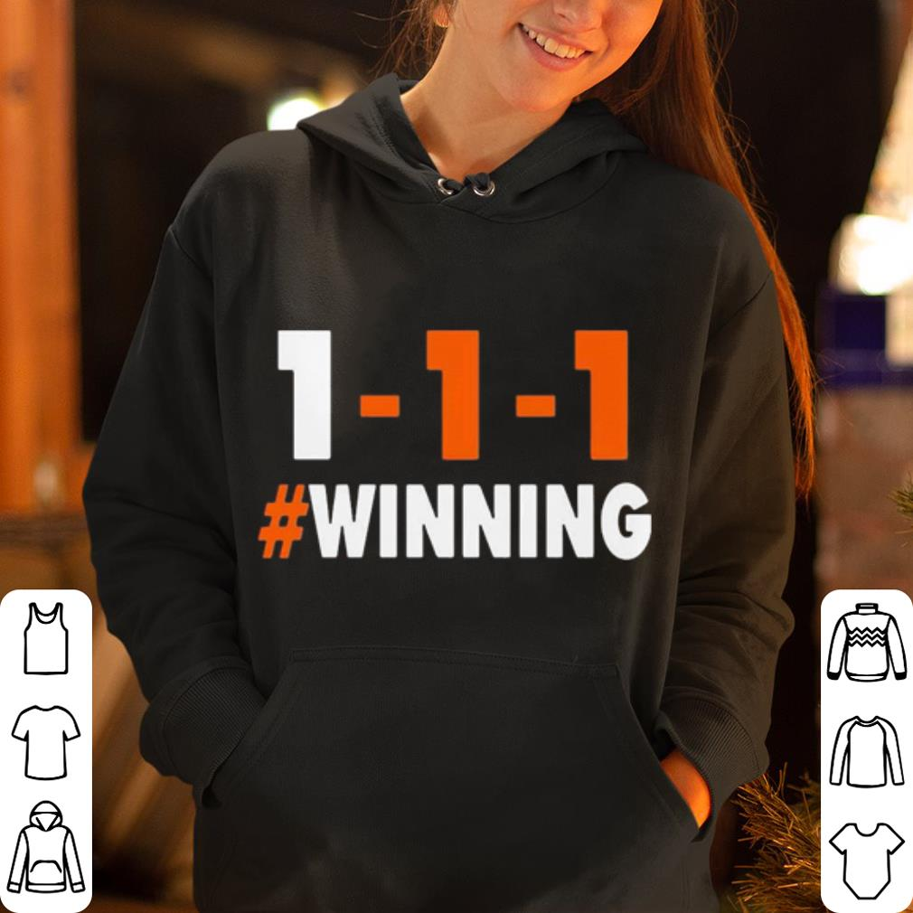 1 1 1 Winning Cleveland football shirt 4 - 1-1-1 Winning Cleveland football shirt