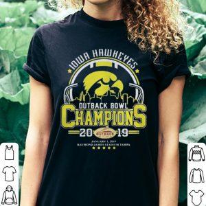 10wa hawkeyes outback bowl champions 2019 shirt 2