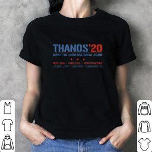 Avengers Thanos 20 make the universe great again shirt 2