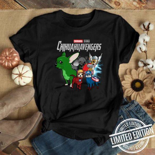 Chihuahua Chihuahuavengers Avengers Endgame shirt