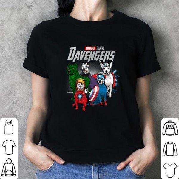 Dogo Argentino DAvengers Marvel Avengers Endgame shirt