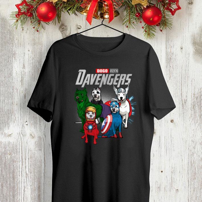 Dogo Argentino DAvengers Marvel Avengers Endgame shirt 4 - Dogo Argentino DAvengers Marvel Avengers Endgame shirt