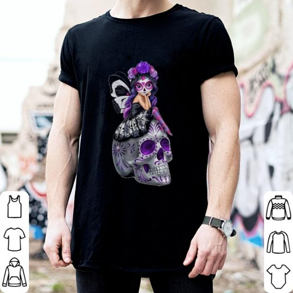 Girl Butterfly Skulls shirt