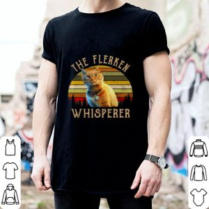 Goose Cat The Flerken Whispered vintage sunset shirt