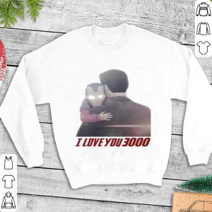 Iron Man Morgan Stark I Love You 3000 shirt