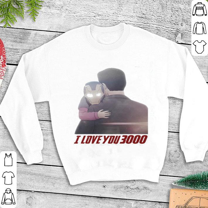 bc5d60e77 Iron Man Morgan Stark I Love You 3000 shirt, hoodie, sweater ...