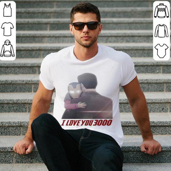 Iron Man Morgan Stark I Love You 3000 shirt