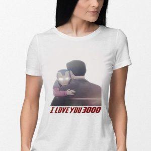 Iron Man Morgan Stark I Love You 3000 shirt 2
