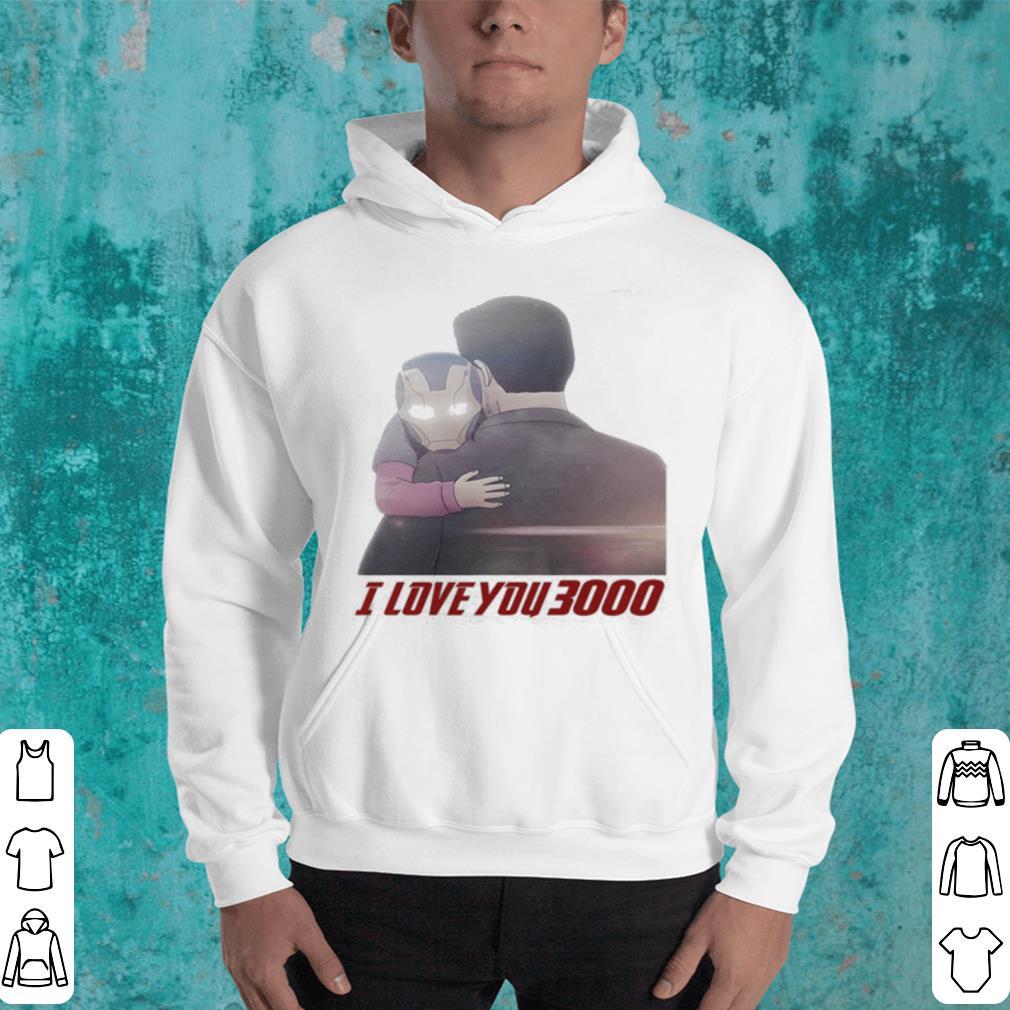 Iron Man Morgan Stark I Love You 3000 shirt 4 - Iron Man Morgan Stark I Love You 3000 shirt