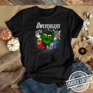 Marvel Avengers Endgame Owlvengers Avengers owl shirt