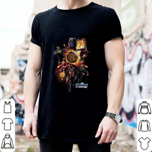 Marvel Avengers Endgame Superheroes and Thanos shirt