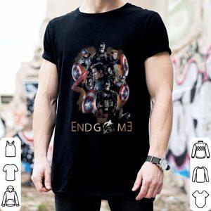 Marvel Captain America Avengers Endgame signature shirt