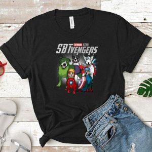 Marvel SBTvengers Avengers Endgame Staffordshire Bull Terrier shirt