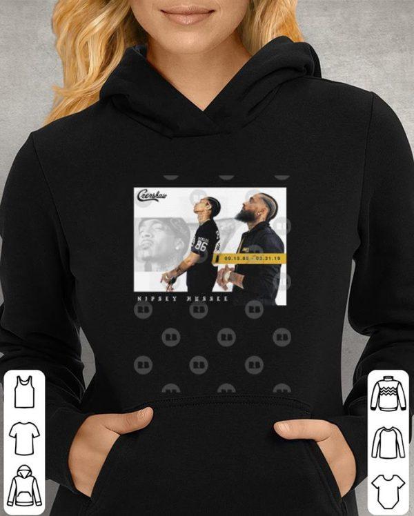 Rip Nipsey Hussle Crenshaw a legend rapper shirt