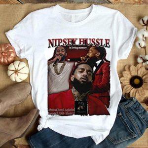 Rip Nipsey Hussle in loving memory shirt