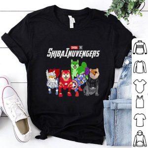 Shiba Inu Shibainuvengers Marvel Avengers Endgame shirt