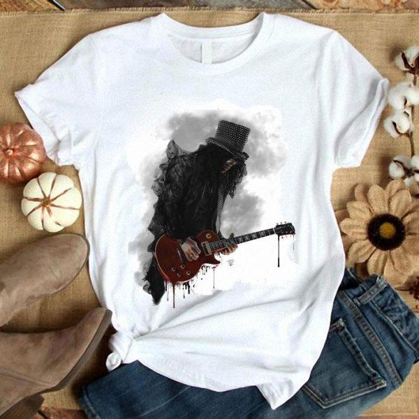 Slash Play Guitar Guns N Roses shirt