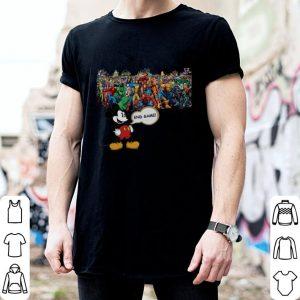 Walt Disney Mickey Mouse Avengers Endgame shirt