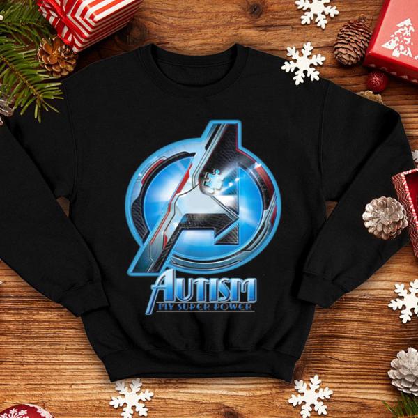Avenger Autism my super power shirt