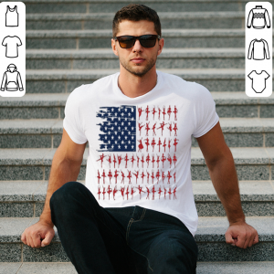 Ballet dancer American Flag 4th July independence day shirt