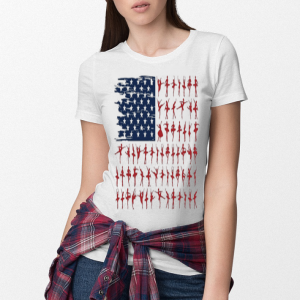Ballet dancer American Flag 4th July independence day shirt 2