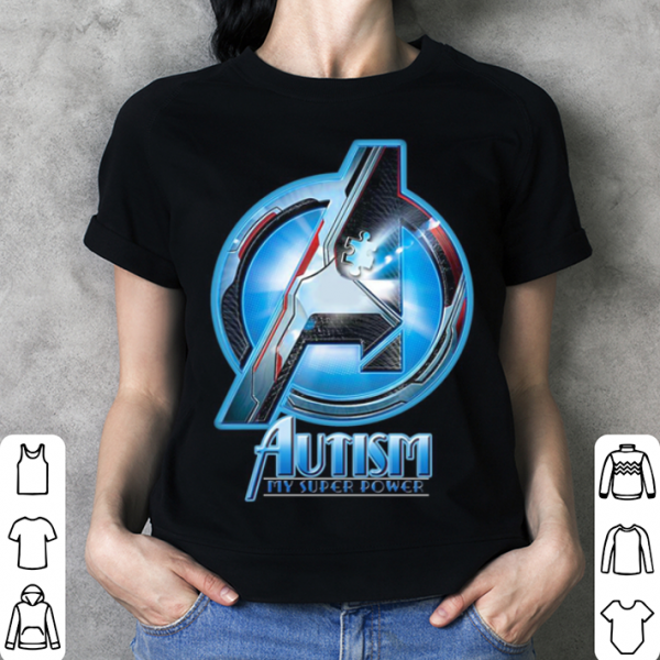 Avenger Autism my super power shirt